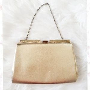 Vintage Gold Clutch/Purse
